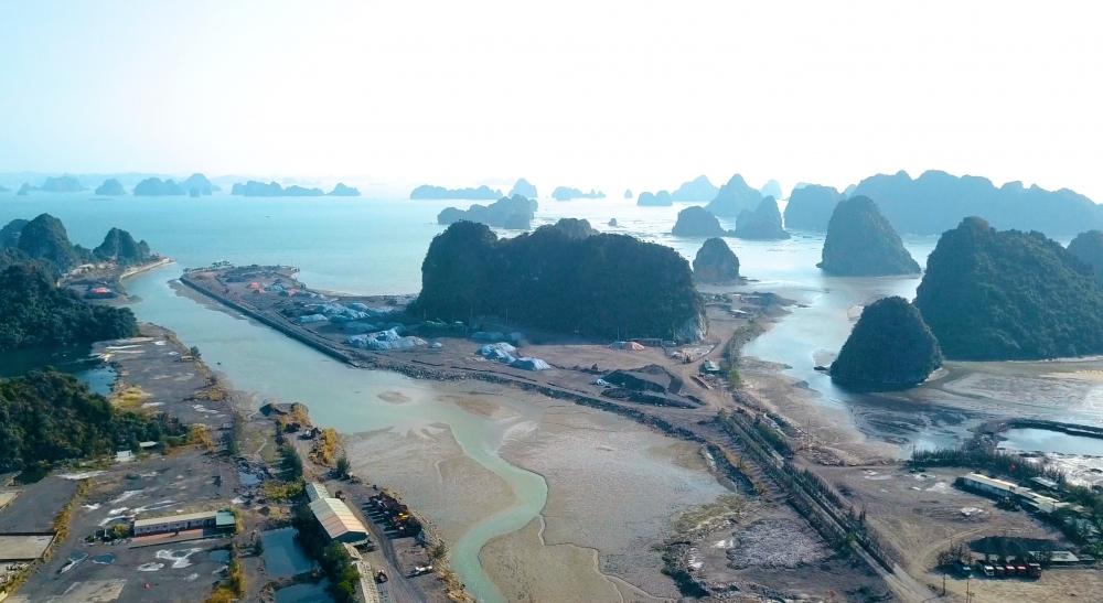 """Quảng Ninh: Cảng than của Công ty TTP có đang """"bức tử"""" vịnh Bái Tử Long?"""