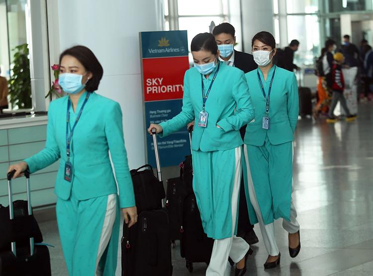 virus corona an mon nganh hang khong