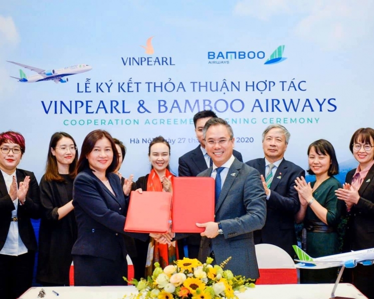 vinpearl bat ngo bat tay voi bamboo airways