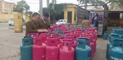 Hàng trăm bình gas không hóa đơn, chứng từ vận chuyển từ Hải Dương sang Thái Bình