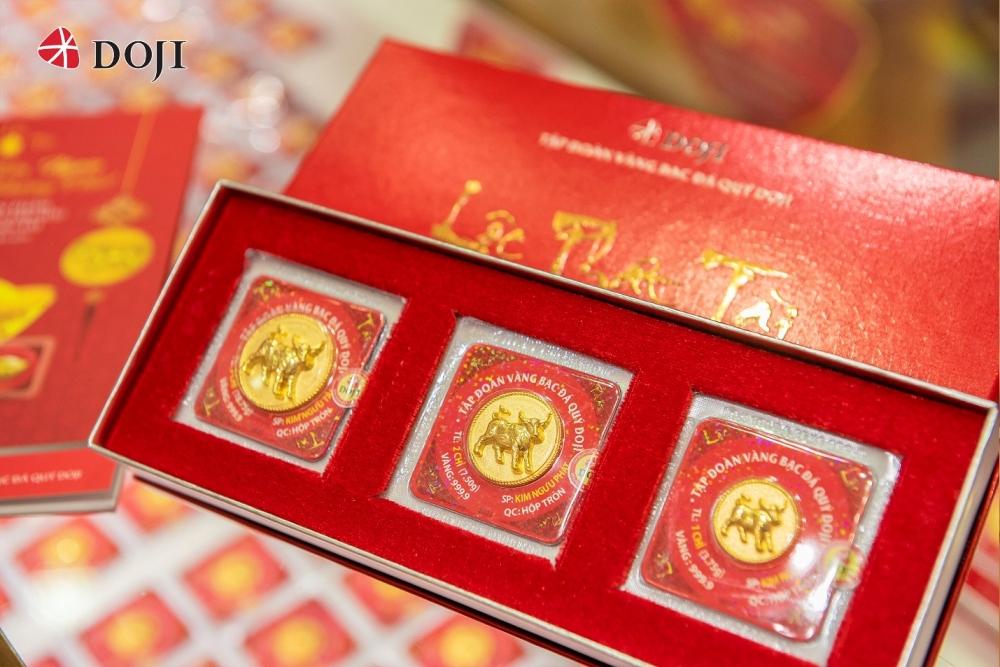 Mãn nhãn với những sản phẩm vàng Thần Tài của DOJI