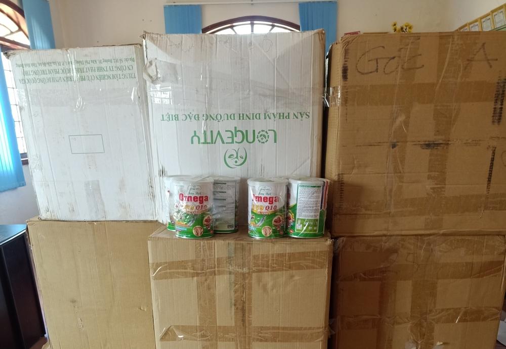 Xử phạt doanh nghiệp kinh doanh sữa bột Omega 369 Q10 Alaska giả
