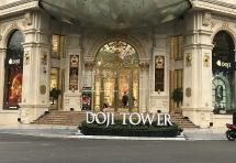 Hà Nội: Quận Ba Đình cho rằng tiểu cảnh bồn hoa trước tòa DOJI Tower là phù hợp