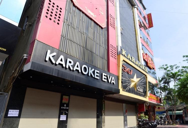 quan cau giay yeu cau tam dung kinh doanh quan karaoke vi dich covid 19