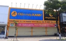 Một số cửa hàng Thế Giới Di Động và Điện Máy Xanh ở Hà Nội đóng cửa