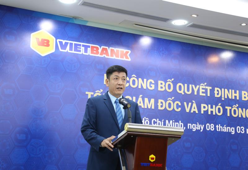 VietBank chính thức có tân Tổng giám đốc