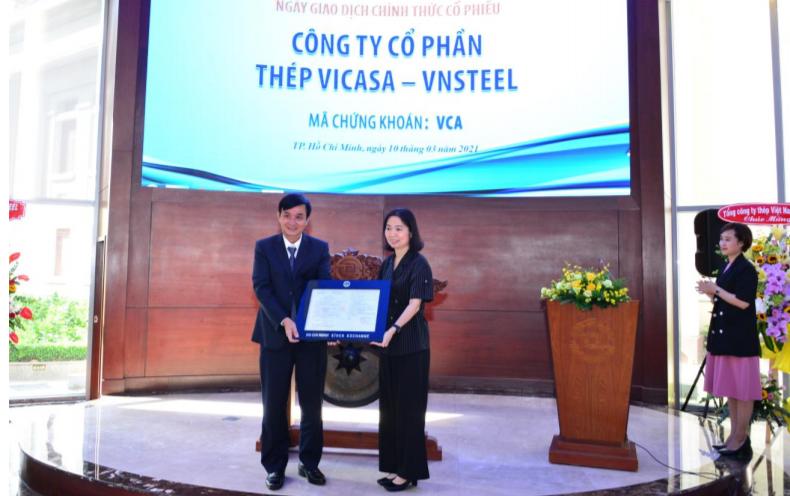 Bất chấp nghẽn lệnh giao dịch, hơn 15 triệu cổ phiếu Thép VICASA lên sàn HOSE