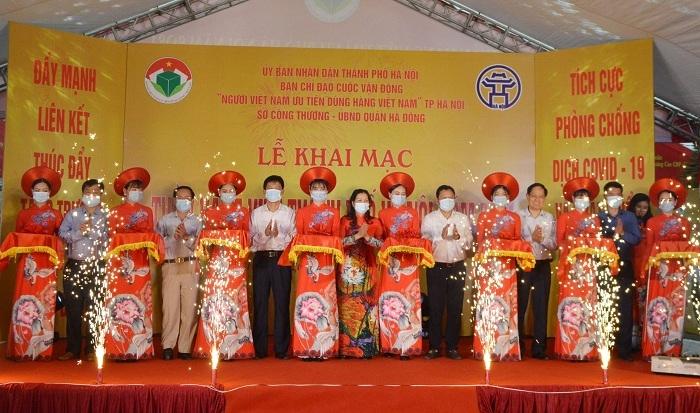 Hơn 100 gian hàng tham gia Tuần hàng Việt TP Hà Nội