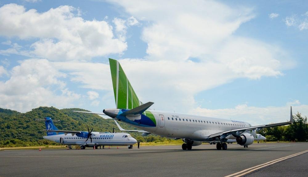 Cục Hàng không yêu cầu các hãng bay tuân thủ slot, giờ bay đến Côn Đảo