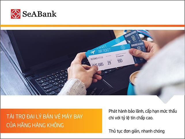 seabank tai tro dai ly ve may bay cua hang hang khong