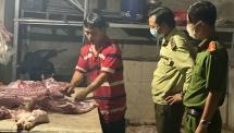 Tăng cường xử lý đầu cơ, găm hàng, tăng giá thịt lợn