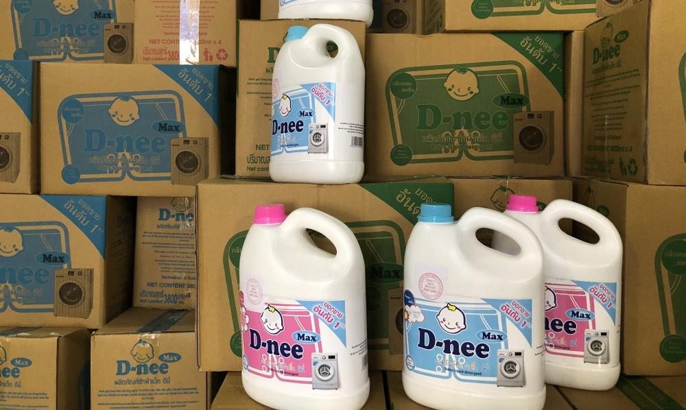 Hà Nội: Phát hiện cơ sở sản xuất nước giặt giả mạo nhãn hiệu Dnee