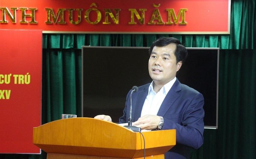 Đồng chí Nguyễn Trọng Đông được 100% cử tri tín nhiệm ứng cử đại biểu HĐND TP Hà Nội