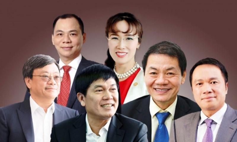 Việt Nam có 6 tỷ phú USD