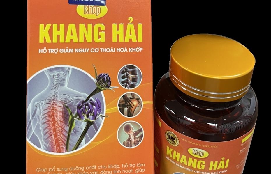 """Hai công ty quảng cáo """"nổ"""" công dụng thực phẩm bảo vệ sức khỏe Boca, Khớp Khang Hải"""