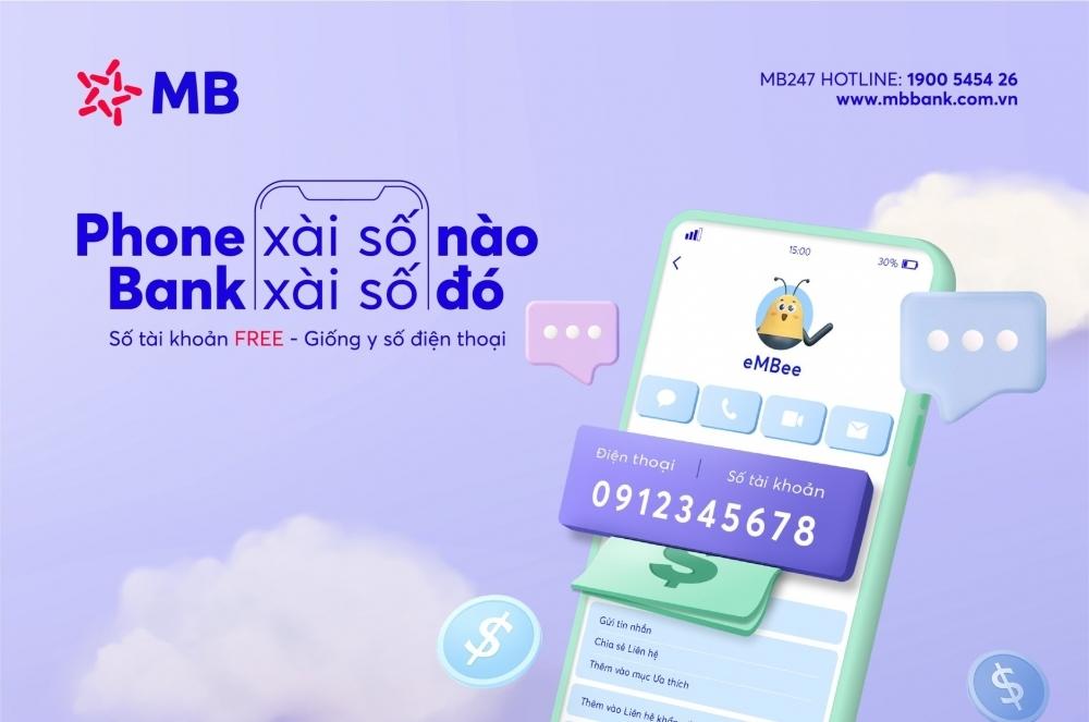 Hơn 300.000 khách hàng có tài khoản ngân hàng MB trùng số điện thoại