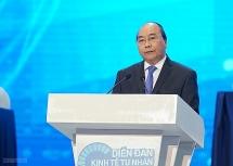 """Thủ tướng Nguyễn Xuân Phúc nêu """"10 chữ"""" để phát triển kinh tế tư nhân"""