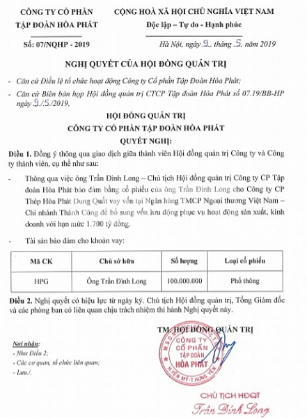 ong tran dinh long the chap tai san nghin ty vay no cho hoa phat dung quat