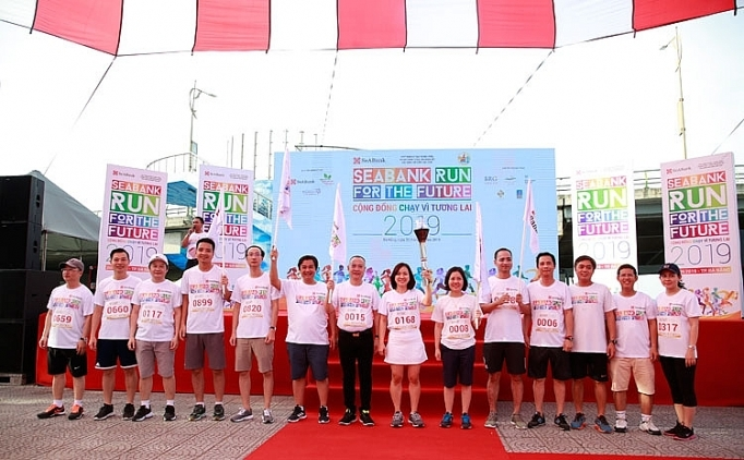 khoi dong chuoi giai chay cong dong chay vi tuong lai seabank run for the future 2019