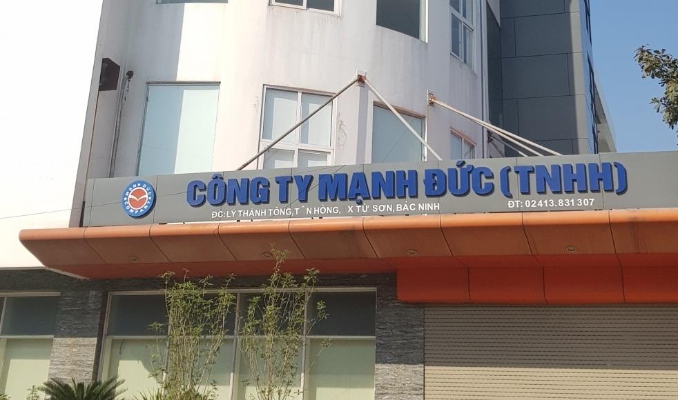 Hàng loạt sai phạm tại các dự án BT tại tỉnh Bắc Ninh, Công ty Mạnh Đức có ngoại lệ?