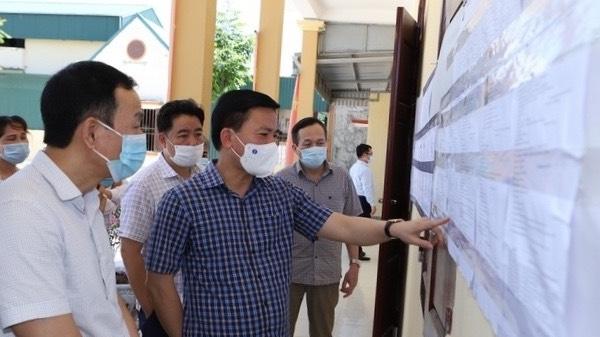 Hậu Lộc - Thanh Hóa: Công tác chuẩn bị bầu cử đúng quy định, đảm bảo tiến độ