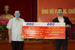 Tập đoàn FLC ủng hộ 3,5 tỷ đồng giúp Vĩnh Phúc chống dịch Covid-19