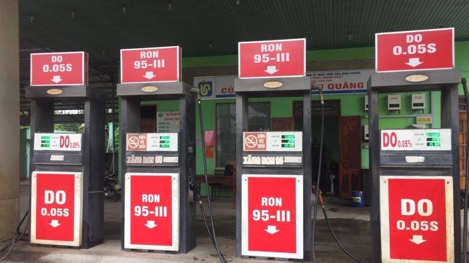 Cửa hàng xăng dầu ở Ninh Thuận bị phát hiện bán giá cao hơn quy định