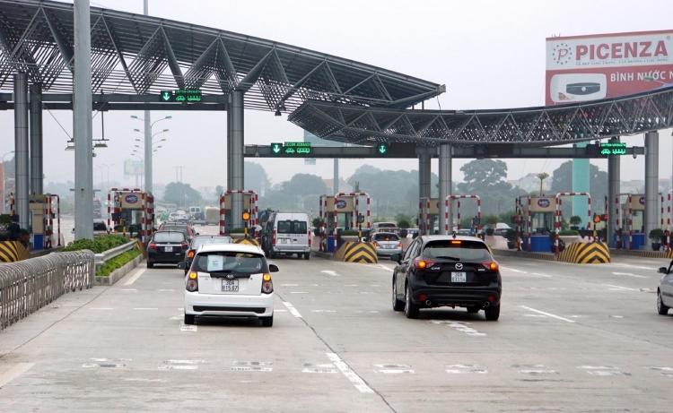 Trạm BOT Pháp Vân - Cầu Giẽ bị yêu cầu dừng thu phí