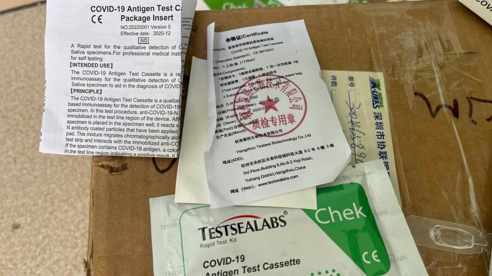 Hà Nội: Xử lý cơ sở kinh doanh test thử nhanh Covid-19 không có hóa đơn hợp pháp