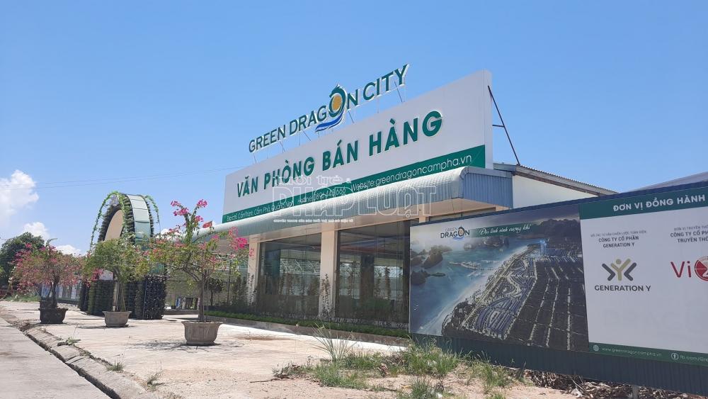 quang ninh du an green dragon city cam pha co giao dat trai luat