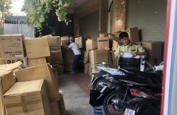 Hà Nội: Thu giữ gần 800.000 khẩu trang không hóa đơn do Công ty Việt Hàn sản xuất