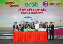 Vietjet bắt tay với Grab, Swift247 mở dịch vụ giao hàng siêu tốc
