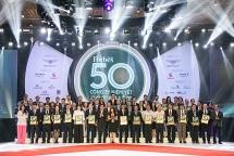 top 50 doanh nghiep niem yet mang dau an lon tu khoi tu nhan