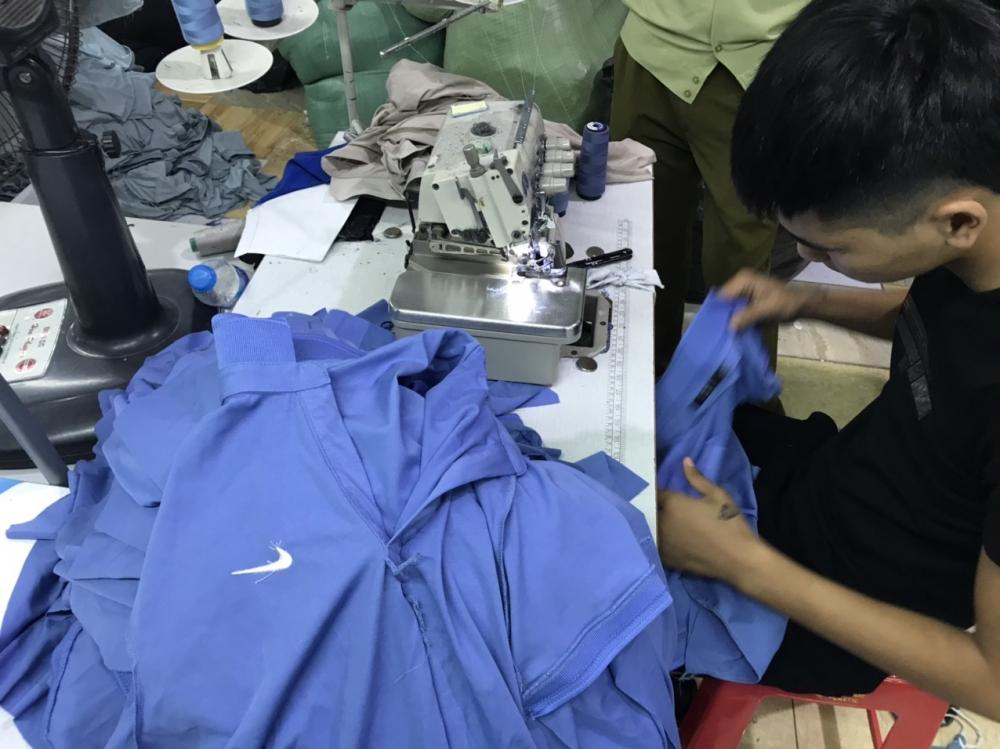 Công ty may làm giả hàng nghìn sản phẩm Adidas, Nike, Gucci, Lacoste