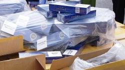 Bắt lô thuốc lá giả nhãn hiệu 555 lớn nhất từ trước đến nay tại Hải Phòng