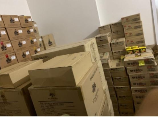 Phát hiện lượng lớn mỹ phẩm, TPCN nhập lậu tại căn hộ Sky City Tower