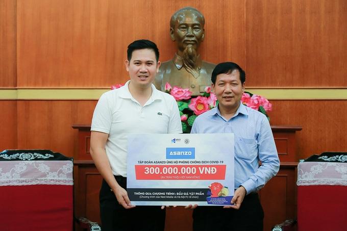 Tập đoàn Asanzo tặng 300 triệu đồng cho quỹ phòng, chống Covid-19