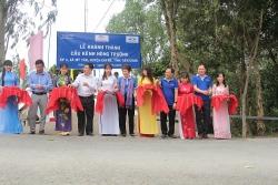 Khánh thành cầu Kênh Nông Trường do Quỹ Hành Trình Xanh và NCB tài trợ