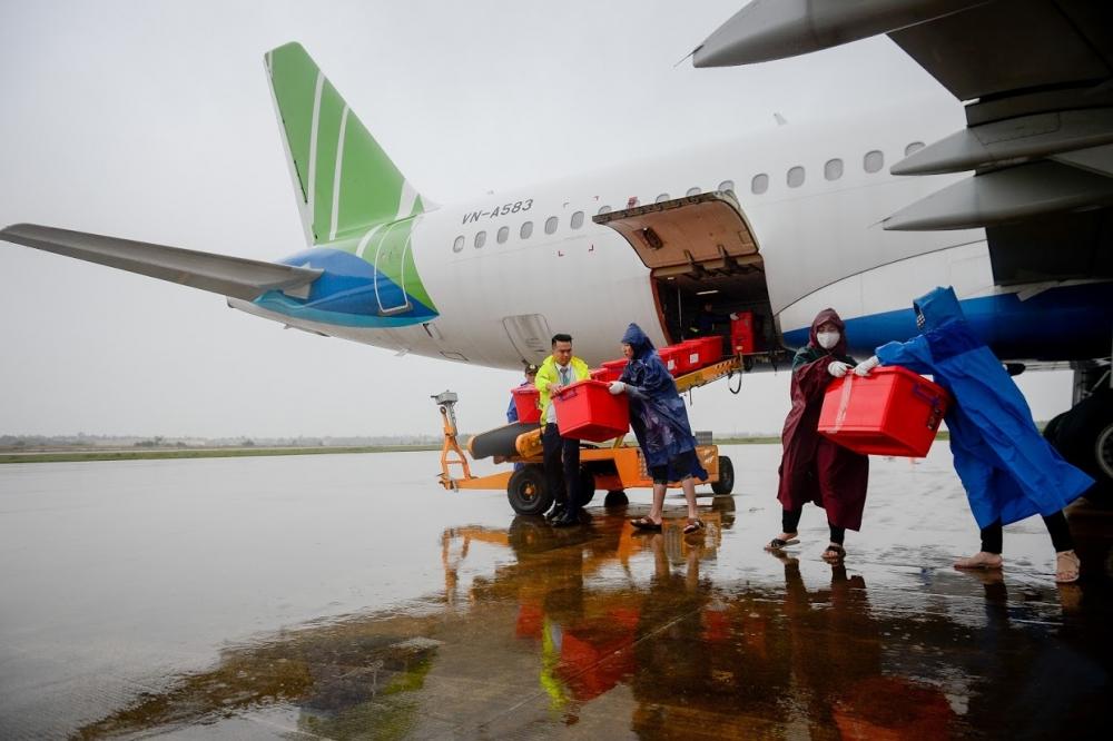 Chuyến bay đặc biệt của Bamboo Airways về với miền Trung