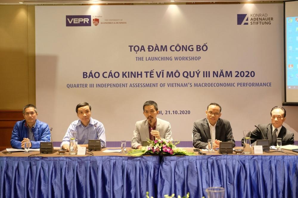 VEPR: Kinh tế Việt Nam năm 2020 có thể tăng trưởng 2,6 - 2,8%