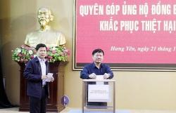 Chủ tịch tỉnh Hưng Yên phát động ủng hộ miền Trung khắc phục bão lũ