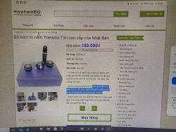 Xử lý website công khai bán mỹ phẩm nhái thương hiệu