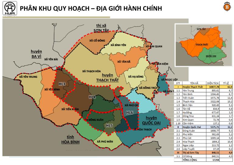 Huyện Thạch Thất tổ chức hội nghị xin ý kiến quy hoạch phân khu đô thị Hòa Lạc