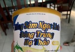 Bắt lô thực phẩm chức năng của Công ty Dược phẩm Thái Dương tại hội thảo