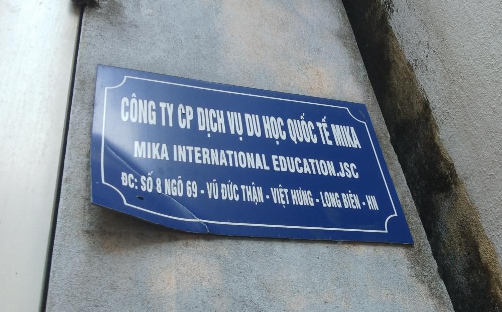 Hàng chục người 'tố' bị Công ty MIKA lừa đảo xuất khẩu lao động