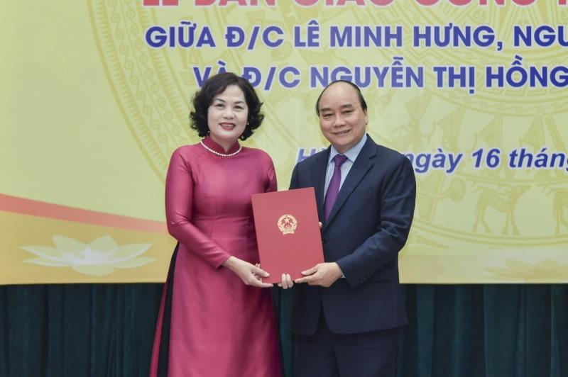 Thủ tướng giao nhiệm vụ cho tân Thống đốc Ngân hàng