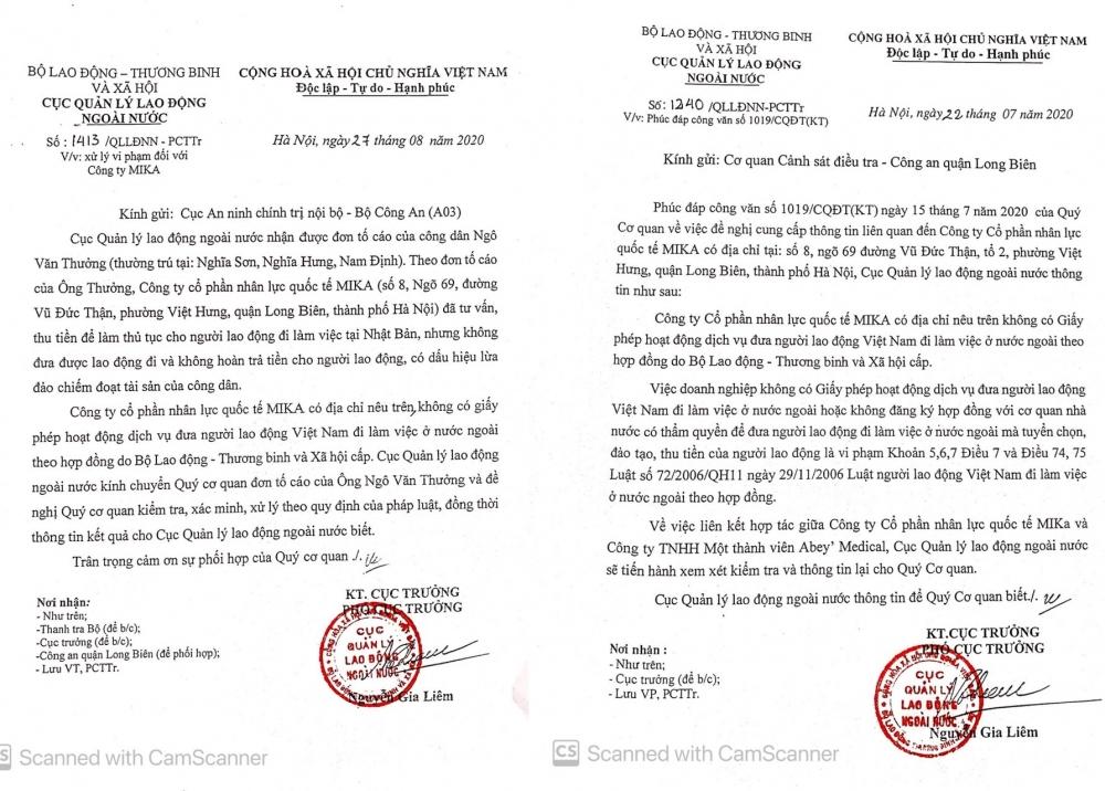 """Vụ Công ty MIKA bị """"tố"""" lừa đảo xuất khẩu lao động: Sở LĐTB&XH Hà Nội nói gì?"""