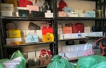Bán online hàng nghìn túi xách giả hàng hiệu ở Thanh Hóa