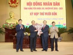 Hưng Yên bầu tân Chủ tịch tỉnh