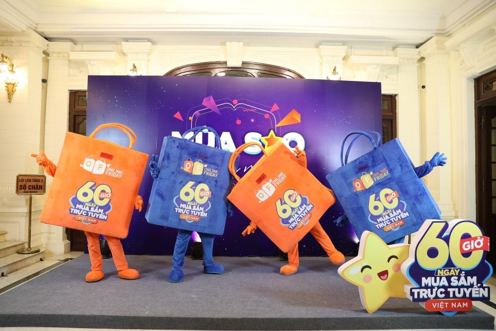 """Bắt đầu """"60 giờ mua sắm trực tuyến Việt Nam"""": Giá """"siêu"""" rẻ, """"siêu"""" khuyến mại"""